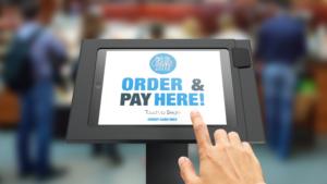 MobileBytes cloud POS for restaurants kiosk feature.