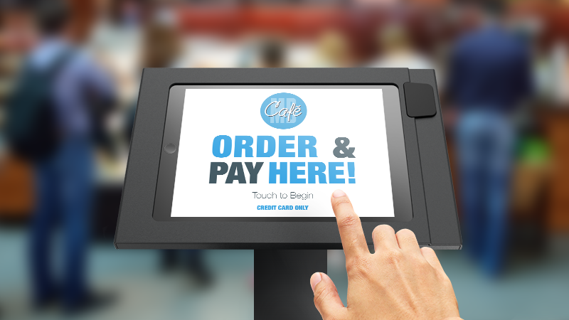 MobileBytes cloud POS for restaurants kiosk feature.